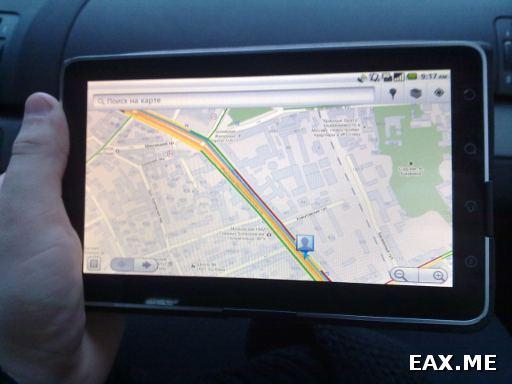 Использование ViewPad в качестве навигатора