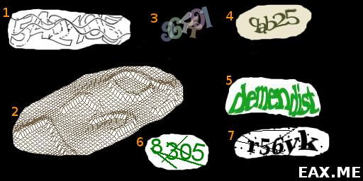 Примеры Captcha
