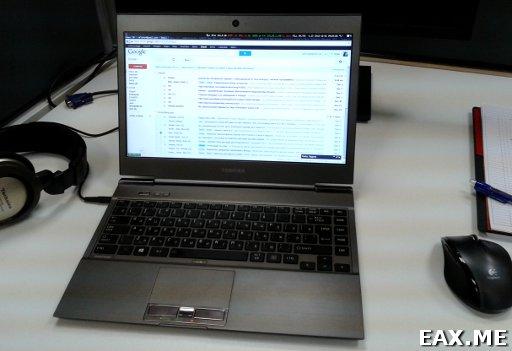 Ubuntu Linux на ультрабуке Toshiba Portege Z930-DKS