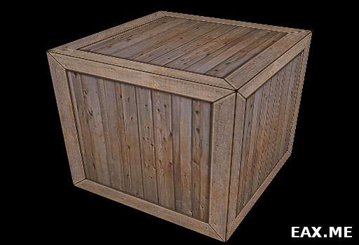 Деревянный ящик на OpenGL