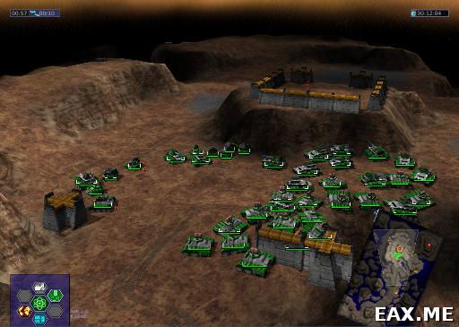 Warzone 2100 - бесплатная RTS под Linux