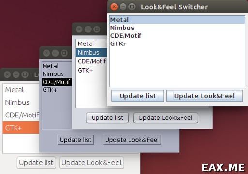 Переключение Look and Feel в Ubuntu
