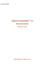 Apache Cassandra 2.1 Documentation