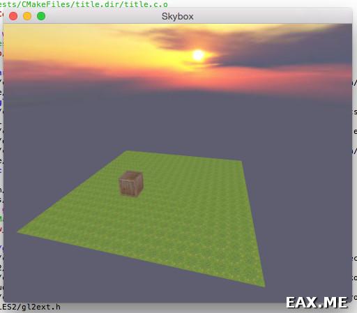 Работа с текстурами и skybox на OpenGL