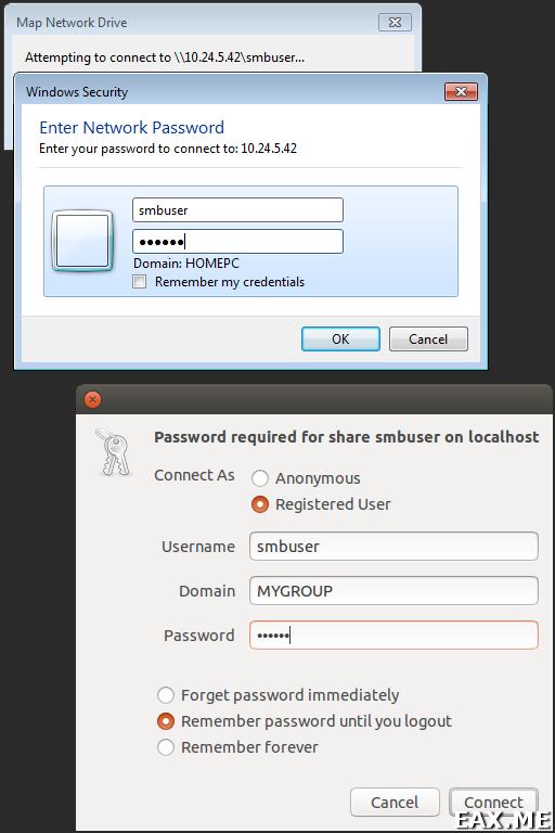 Файловый сервер на Samba