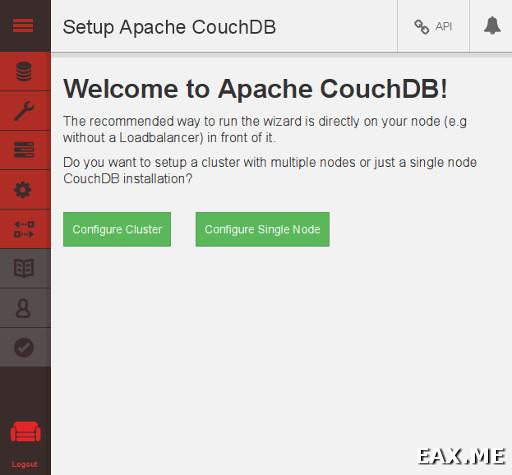 Веб-интерфейс CouchDB