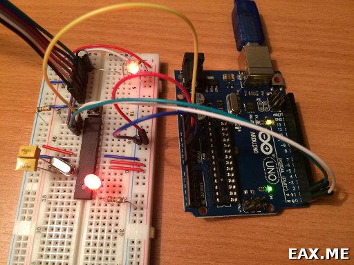 Arduino в качестве преобразователя USB-UART