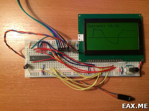 Цифровой термометр из ЖК-матрицы, TMP36 и Arduino