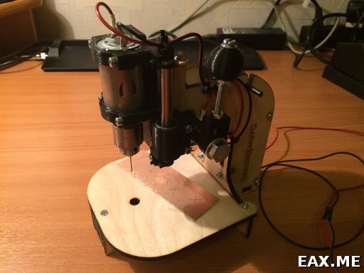 Сверлильный станок «Буратор» от CustomElectronics