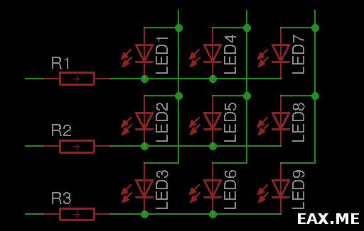 Матричная схема мультиплексирования