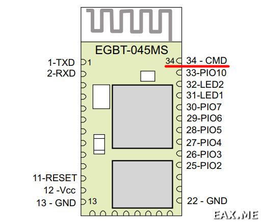 Bluetooth-модуль EGBT-045MS