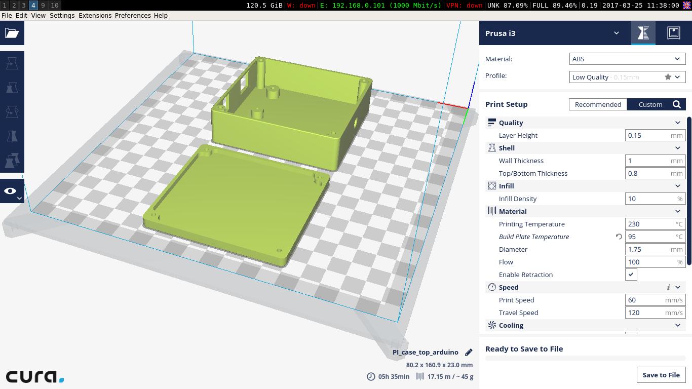 Первые впечатления от 3D-принтера RepRap Prusa i3   Записки программиста