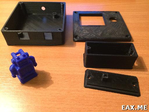 Примеры моделей, напечатанных на RepRap Prusa i3
