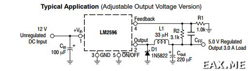 Схема BEC на базе LM2596