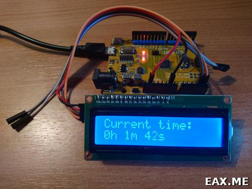 Arduino и экранчик 1602 с I2C-адаптером