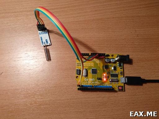 Подключение HC-12 к Arduino