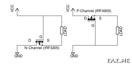 Использование MOSFET'ов для защиты от переполюсовки