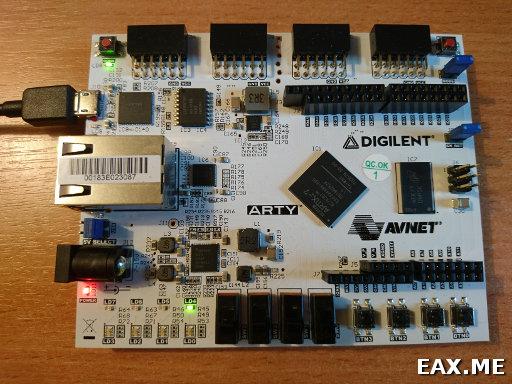 Arty Artix-7, девборда с FPGA