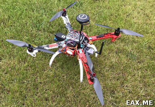 Квадрокоптер с GPS, FPV и телеметрией
